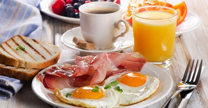 Saluda a un nuevo y excitante desayuno