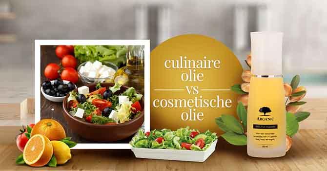 ¿Qué diferencia al aceite de argán culinario del aceite cosmético?