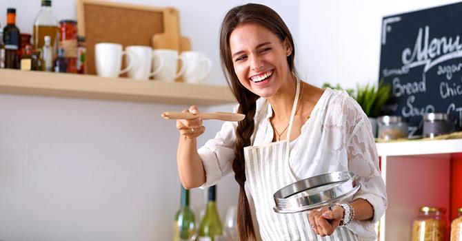 La cocina es la llave a un pelo más hermoso!